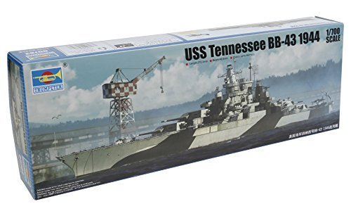 Trumpeter USS Tennessee Bb-43 1944 Building?Kit by Trumpeter (Uss Tennessee)