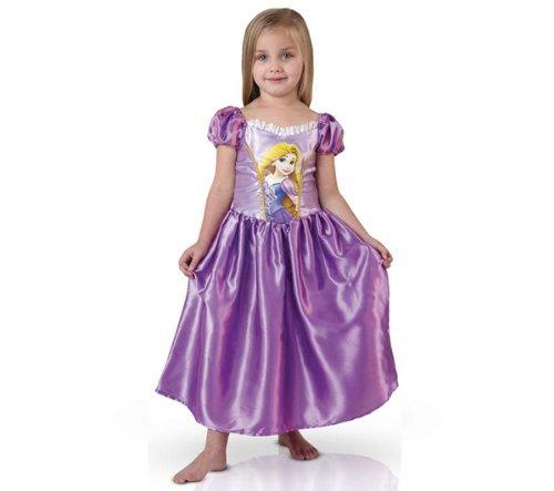 RUBIE'S Disney Princess - Costume da bambina di Raperonzolo - Taglia 3-4 anni