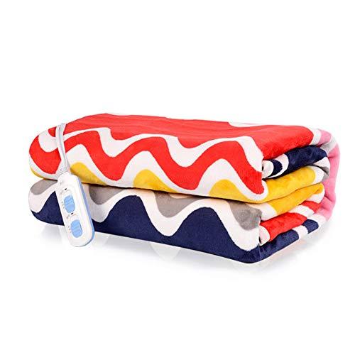 Hot-bed scaldasonno sensitive matrimoniale, tessuto anallergico, coprimaterasso maxi 170 x 120 cm, 6 temperature, risparmio energetico, lavabile in lavatrice,c