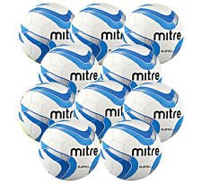mitre-impel-training-football-white-navy-blue-size-5-pack-of-10-balls