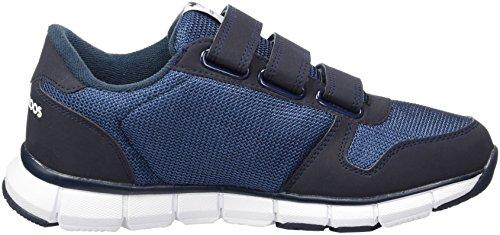 KangaROOS Unisex-Erwachsene K-Bluerun 701 B Sneaker Blau (Dk Navy/White)