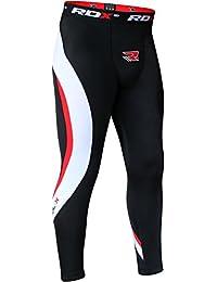 RDX Neoprene Pantalon de compression Tights Running Caleçon Collant Sport Triathlon