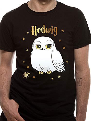 Hedwig Zubehör - T-Shirt (Unisex-Xl) Foil Hedwig Stars