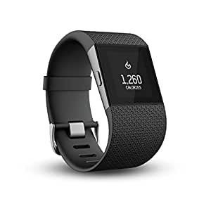 Fitbit Surge Fitness Super Watch - Black, Small