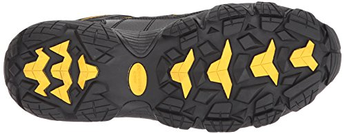 Skechers Work Mens Blais-Bixford Steel Toe Hiking Shoe Black/yellow