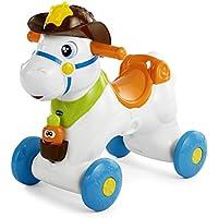 Chicco - Balancín, correpasillos y Centro de Actividades electrónicas Baby Rodeo 3 en 1 - Peluches y Puzzles precios baratos