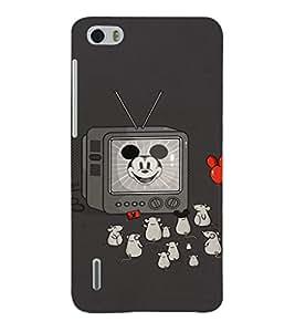 EPICCASE Mick Mouse(s) Mobile Back Case Cover For Huawei Honor 6 (Designer Case)