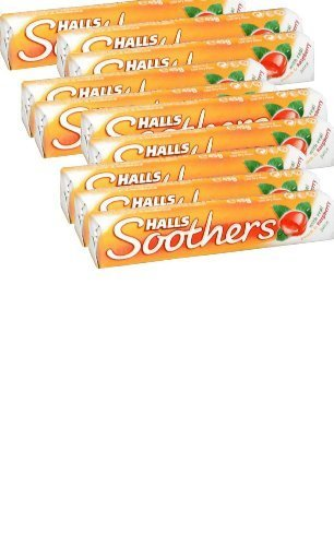 halls-soothers-lozenges-peach-raspberry-10-pack-of-10