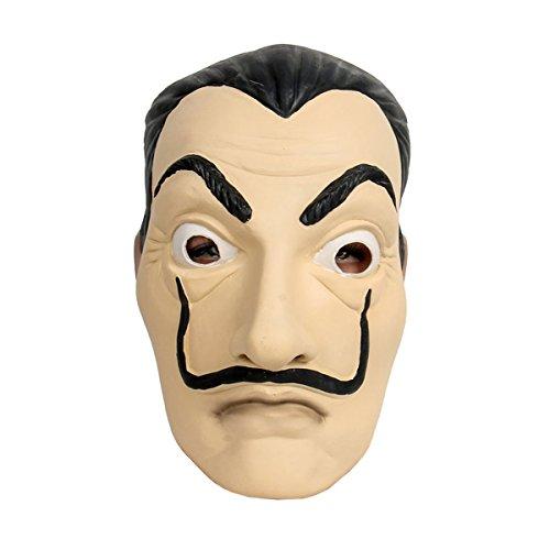 i Maske Latex Kopfmaske LCDP Realistische Movie Vollmaske für Cosplay Kostüm (Halloween-die Besten Masken)