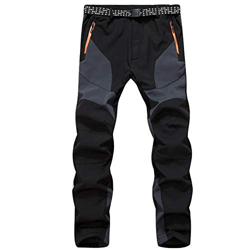 Elecenty Mantieni caldo Pantaloni uomo strappati pantaloni slim fit jeans denim hip hop Da Uomo Jeans Fit Casual Biker antaloni