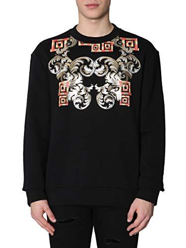 Versace Collection Herren V800821mvj00400v7008 Schwarz Baumwolle Sweatshirt