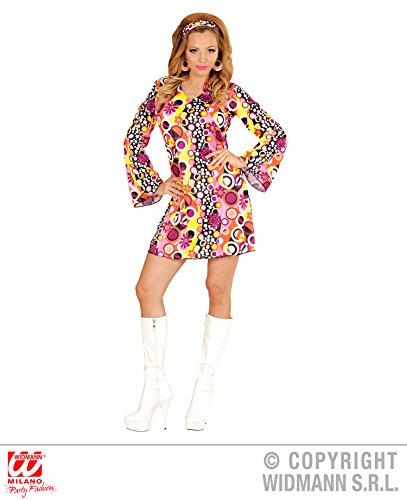 Widmann wid67671–Kostüm für Erwachsene Groovy Girl, mehrfarbig, S (Disco Fever Fancy Dress Kostüme)