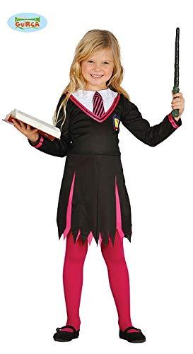 Guirca Studentin der Magie Zauberlehrling Kostüm Zauberer für Kinder Halloween Magier Schüler Gr. 110-146, Größe:140/146