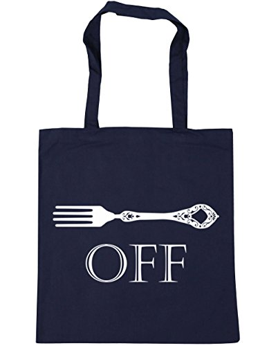 hippowarehouse-fork-off-tote-shopping-gym-beach-bag-42cm-x38cm-10-litres