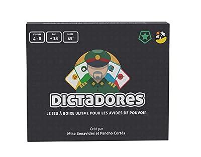 Dictadores - Bayana Club - Le Jeu à Boire Ultime - Jeu de société Adulte