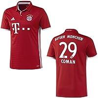 2016-17 Bayern Home Shirt (Coman