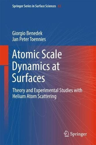 Atomic Scale Dynamics at Surfaces: Theory and Experimental Studies with Helium Atom Scattering (Springer Series in Surface Sciences, Band 63)