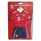 FC Bayern München Trikot / Autotrikot mit Saugnapf - rot neues Design FCB - plus gratis Aufkleber forever München