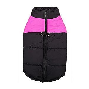 Nibesser Manteau d'hiver Rembourré Veste Sweat Hiver-Coat pour Chien S-5XL