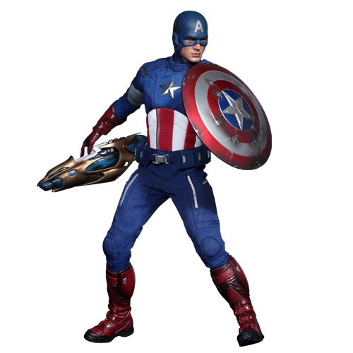 "Movie Masterpiece [] ""The Avengers"" 1/6 scale figure Captain America (2 next shipment) (japan import)"