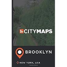 City Maps Brooklyn New York, USA