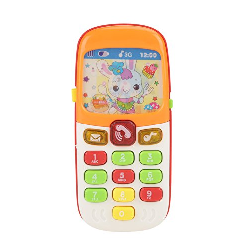 Spielen Sie die Sprache der Kinder der Kinder Musikalische Multifunktionsspielzeug Lernen Spielen Frühe pädagogische Hängen Bett Glocke Baby