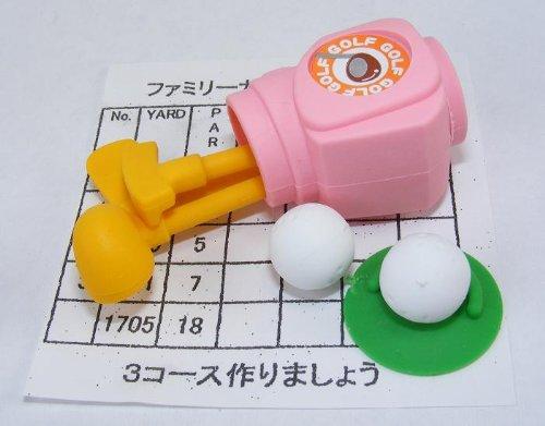 Traum Golfset rosa japanischen Radiergummis