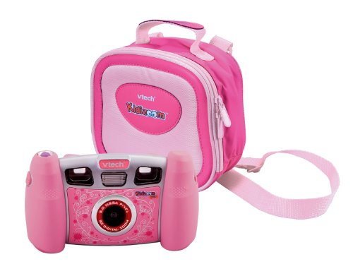 Vtech 80-107064 - Kidizoom Pro Digitalkamera pink inklusiv Tragetasche