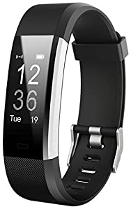 JoyGeek Fitness Tracker, Smart Bracelet Heart Rate Monitor, Bluetooth Smart Watch with Sleep Monitor Pedometer GPS Call/SMS Reminder for iPhone X/8/8plus/7 Samsung S8/note 8 Huawei Mate 9/P9/P10
