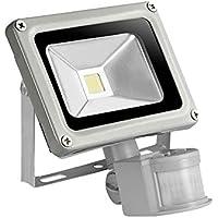 LED Strahler Fluter Scheinwerfer mit Bewegungsmelder Außenleuchte 30W Slim IP65