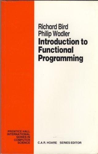 Verifiable Programming (Prentice Hall International Series in Computing Science)