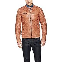 41d9e981f1a Amazon.fr   Blouson Cuir Pepe Jeans