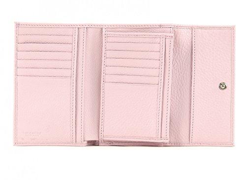 COCCINELLE Pelle Vitello Flap Wallet S Iris Rosa