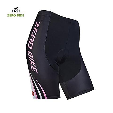 ZEROBIKE® Frauen Fahrrad Radfahren Unterwäsche Quick Dry Gel 3D füllte Fahrrad Shorts Hose Atmungsfähig Leicht