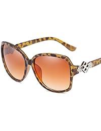 Axiba Europa y Estados Unidos Generoso Marco señora Decorativo Gafas de Sol con Estilo luz Anti