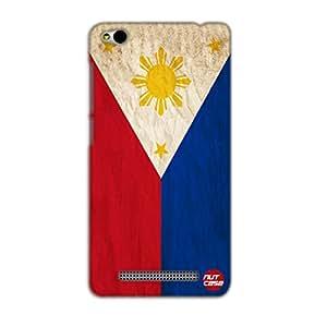 Designer Xiaomi Redmi 3 Case Cover Nutcase -Philippine Vintage Distressed Flag