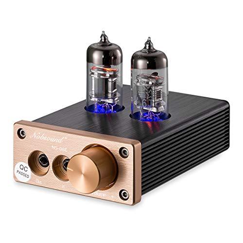Nobsound HiFi Mini Valve Tube Headphone Amplifier Stereo amp Audio Kopfhörerverstärker
