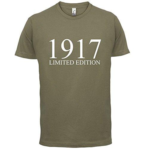 1917 Limierte Auflage / Limited Edition - 100. Geburtstag - Herren T-Shirt - 13 Farben Khaki