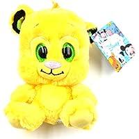 Glities Disney Simba Lion King Plush Stuffed with Sparkling Glitter Big Eyes