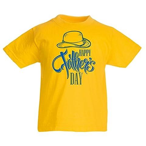 Maman Papa Fille Halloween - T-shirt pour enfants Joyeux jour des pères