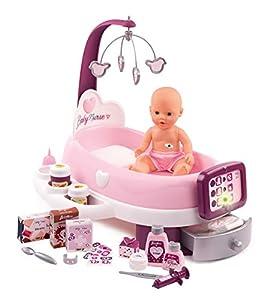 Smoby Baby - Nurse electrónico para bebé, Color Rosa