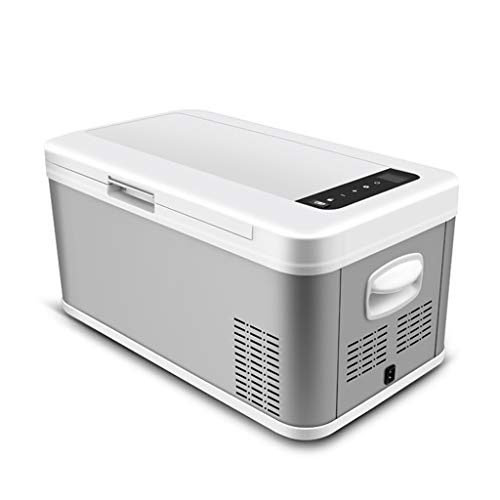 TCYLZ Tragbarer Kompressor Kühlschrank Gefrierschrank (18/25 Liter) Mini Kühlschrank AC oder DC Powered Cooler 12V-24V 110V-240V | Camping, Reisen, Picknicks 110v Dc Single