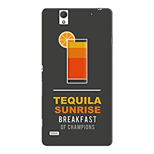 DailyObjects Sunrise Case For Sony Xperia C4