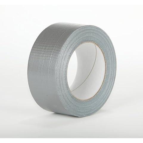 Nastro adesivo multiuso in tessuto, 1 rotolo da 48 mm x 50 m, (Tessuto Nastro Adesivo)