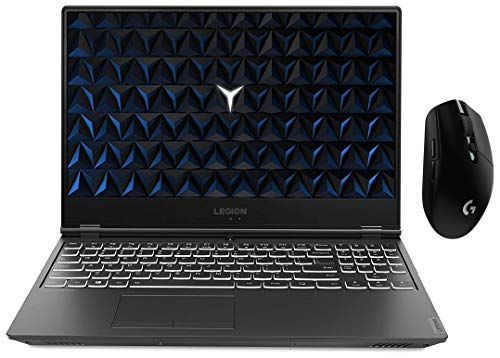 Lenovo Legion Y540 9th Gen Core Intel I7 15.6 inch FHD Gaming Laptop (8GB RAM/ 512  SSD / Windows 10 Home / 4GB NVIDIA GTX 1650 Graphics / Black / 2.3 Kg) with logitech Wireless Gaming Mouse
