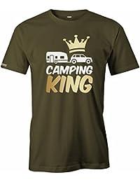 Camping King - Hobby Reisen - HERREN T-SHIRT
