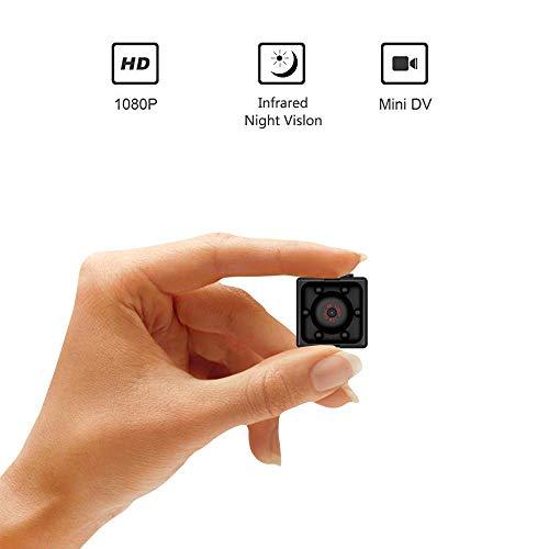 ENEM 1080P Full HD Hidden Smallest Spy Camera | Night Vision | 1920 x 1080 p | SQ11 - Black