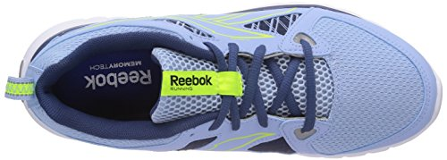 Reebok SubLite Escape MT - Scarpe da corsa donna Blu (Denim Glow/Batik Blue/Solar Yellow/White/Blk)