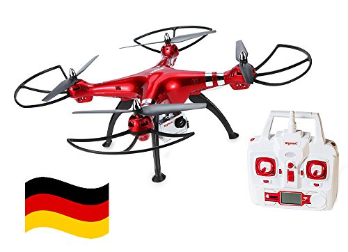 Preisvergleich Produktbild Deutschland Syma X8HG XXL Drohne RC Quadcopter 2,4GH 6 Axis 4CH 8MP HD Kamera Headless 3D 360°