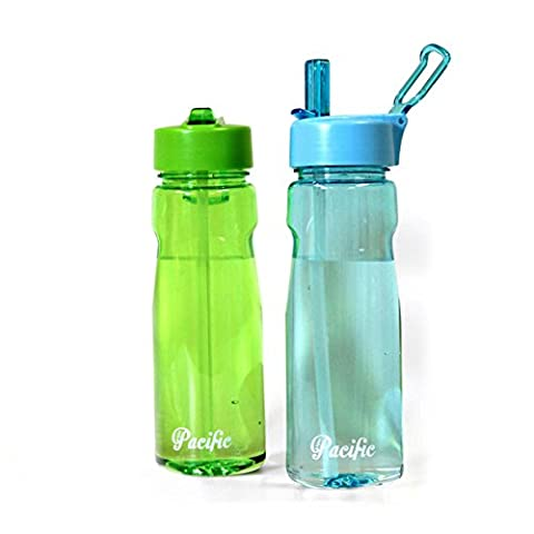 Pacific Water Bottle With Straw 550